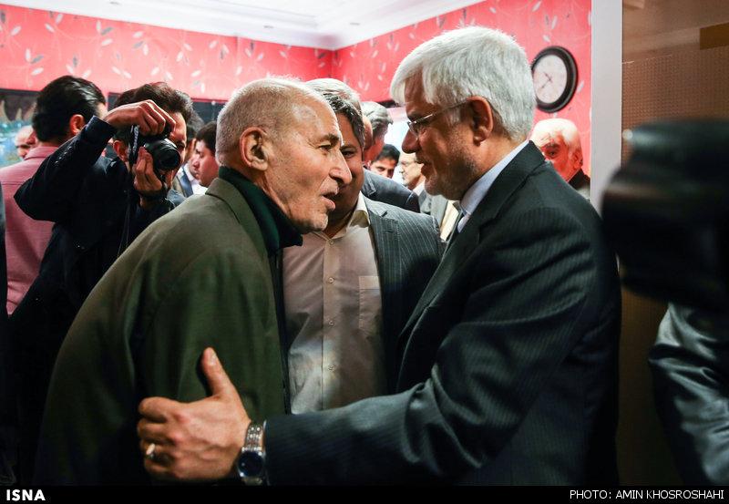تصویر) بهزاد نبوی به دیدار عارف رفت