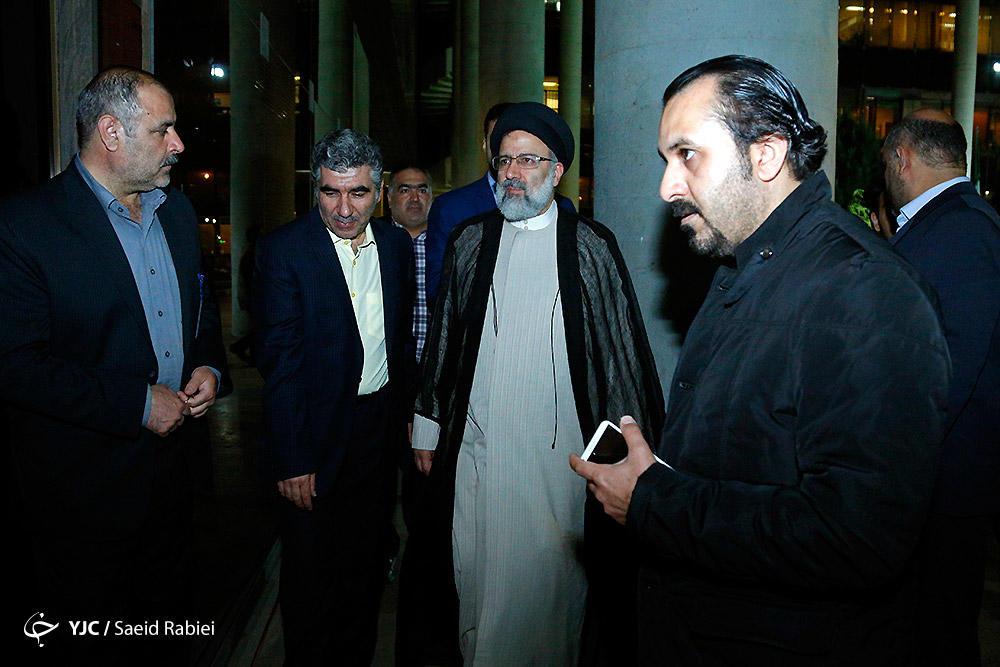 (تصاویر) پشت صحنه گفتگوی ویژه خبری با حضور رئیسی