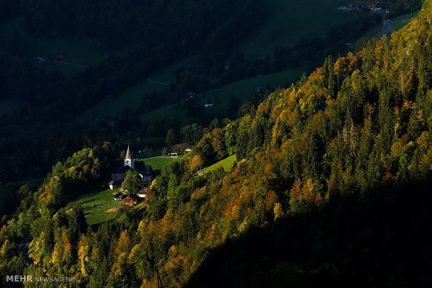 (تصاویر)-رنگ های پاییزی