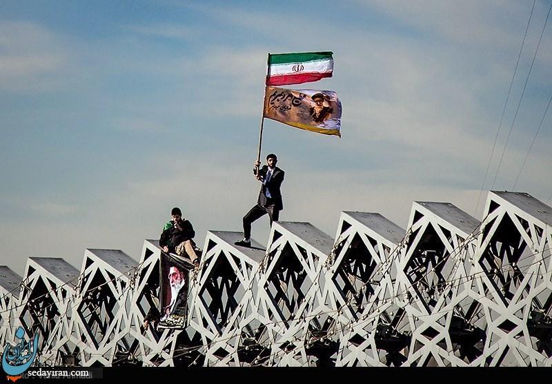 (تصاویر) مراسم بزرگداشت ۹دی در تهران