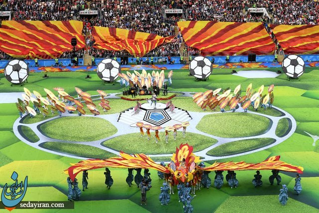 (تصاویر) آغاز جام جهانی روسیه