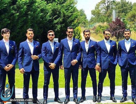 تیم ملی فوتبال ایران خوش تیپ ترین تیم جام جهانی ۲۰۱۸ شد