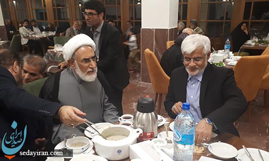 ضیافت افطاری دکتر محسن رهامی برگزار شد