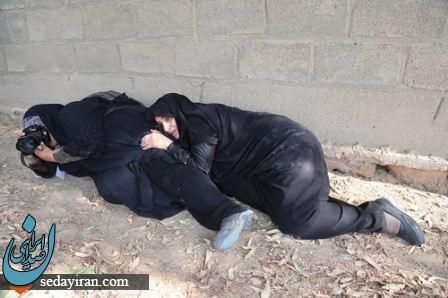 عکاسی با اعمال شاقه از حمله تروریستی اهواز!