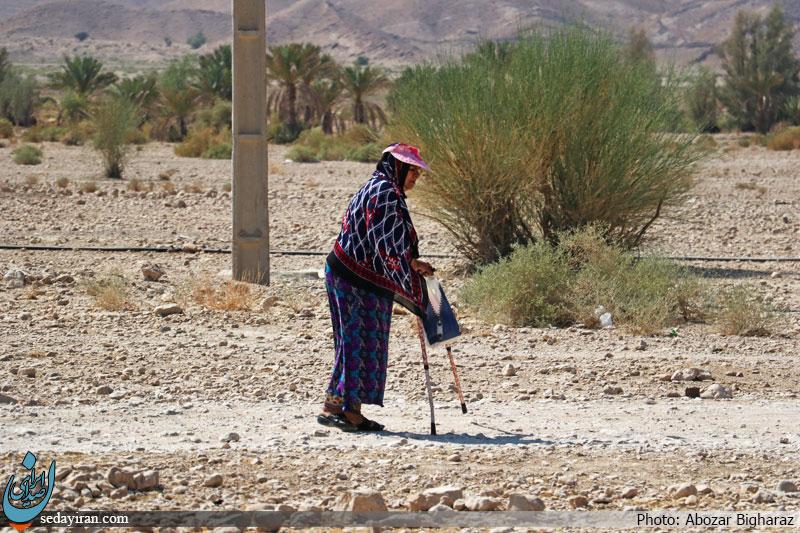(تصاویر) تصاویر ثبت شده از زندگی روزمره ای روستای بلوچی