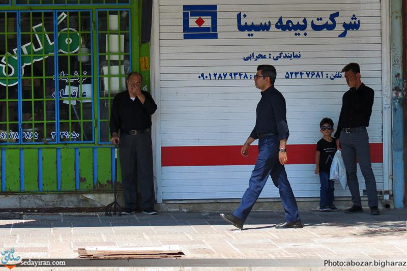 (تصاویر) عزاداری اربعین حسینی(ع) در شهرستان لارستان